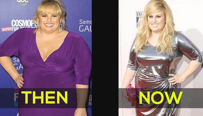 rebel wilson weight loss fake