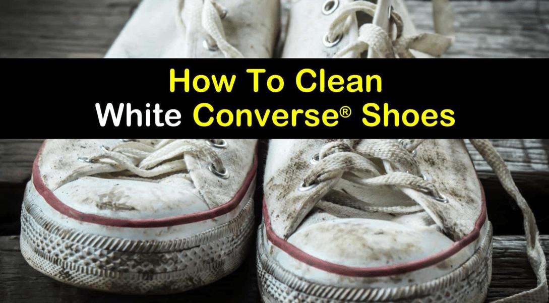 White Converse Clean