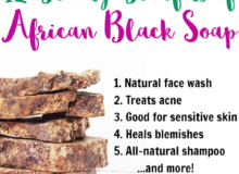 African Black Soap And Its Beauty Benefit