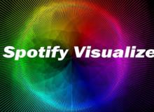 Amazing Spotify Music Visualizer