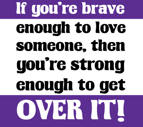 Get Over Someone You Love
